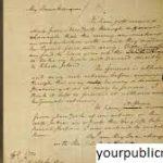 Surat Alexander Hamilton yang Dicuri Kembali ke Massachusetts
